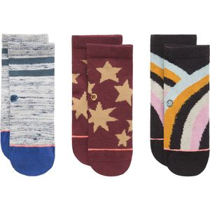 Stance Nalani Socks - 3-Pack - Toddler Girls'