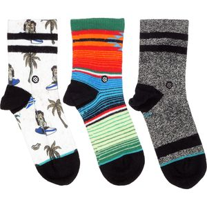 Stance Toddler Boy 3 Pack Box Set Socks