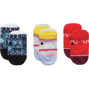 Stance Toddler Girl 3-Pack Box Set Socks