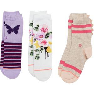Stance Just Dandy Sock - 3-Pack - Toddler Girls'