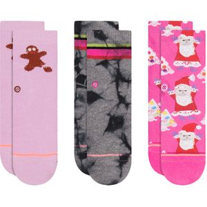 Stance Santipaws Sock - 3 Pack - Toddler Girls'