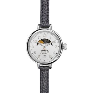 Shinola Birdy 34mm Moon Phase Watch - Women's