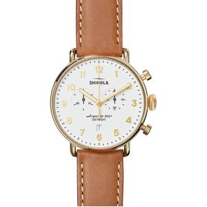 Shinola Canfield Chrono 43mm Watch