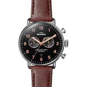 Shinola Canfield Chrono 43mm Watch - Men's