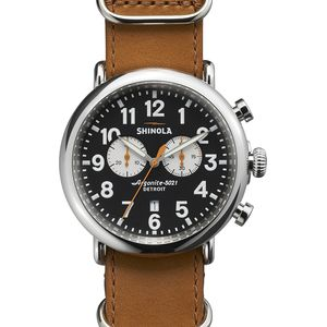 Shinola The Runwell 47mm Chrono Watch - Men's