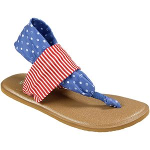 Sanuk Yoga Sling Patriot Sandal - Girls'