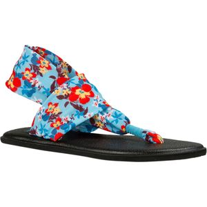 Sanuk Yoga Sling Burst Prints Sandal - Toddler Girls'
