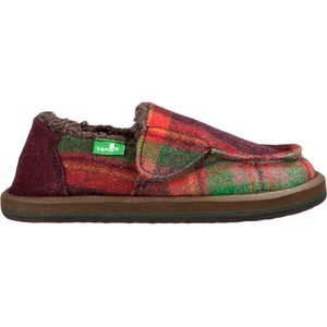 Sanuk Vagabond Plaid Chill Slipper - Boys'