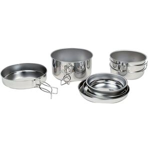 Snow Peak Personal Cooker 3 Pot Set