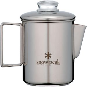Snow Peak Stainless Steel Coffee Percolator