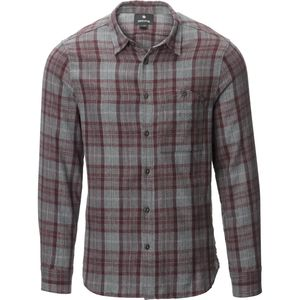Snow Peak Hand-Dyed Flannel Check Shirt - Men's