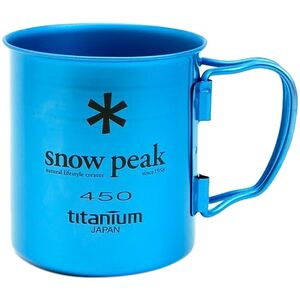 Snow Peak Ti Single 450 Colored Cup