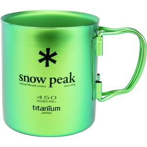 Snow Peak Ti-Double 450 Colored Mug