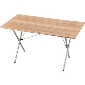 Snow Peak Single Action Table Long - Bamboo Top