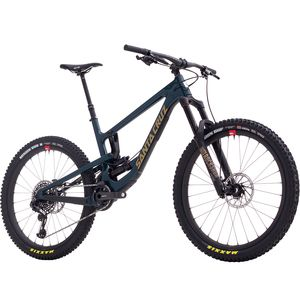 Santa Cruz Bicycles Nomad Carbon CC X01 Reserve RCT Air Complete Mountain Bike - 2018