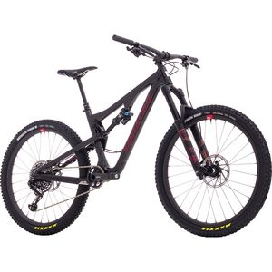 Santa Cruz Bicycles Bronson 2.1 Carbon CC X01 Eagle Reserve Complete Mountain Bike - 2018