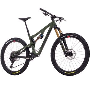 Santa Cruz Bicycles Bronson 2.1 Carbon CC XX1 Eagle Reserve Complete Mountain Bike - 2018