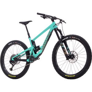 Santa Cruz Bicycles Bronson Carbon CC 27.5+ X01 Eagle Complete Mountain Bike