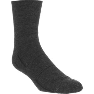 SockGuy Charcoal 4in Wool Sock