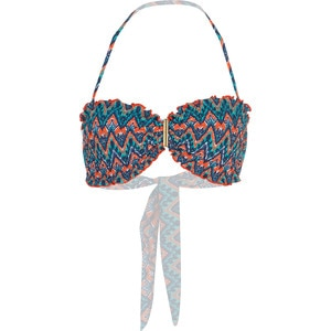 Sofia by Vix Folk Rouching Bandeau Bikini Top - Women's