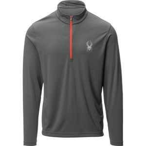 Spyder Silver Dip Dry W.E.B. Baselayer- Men's