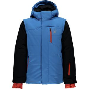 Spyder Axis Hooded Jacket - Boys'
