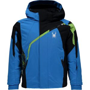 Spyder Mini Challenger Hooded Jacket - Toddler Boys'