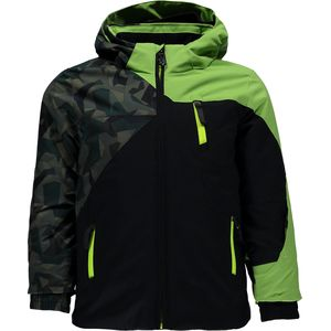 Spyder Mini Ambush Hooded Jacket - Toddler Boys'