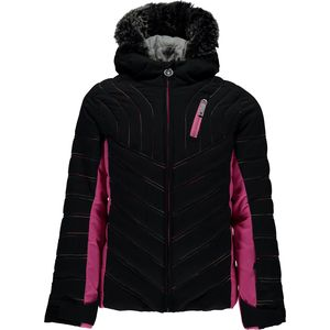 Spyder Hottie Faux Fur Hooded Jacket - Girls'