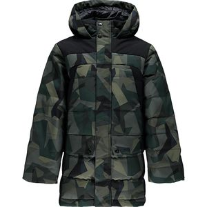 Spyder Garrison Hooded Down Jacket - Boys'