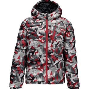 Spyder Dolomite Hooded Down Jacket - Boys'