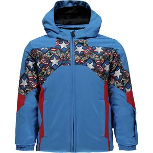 Spyder Marvel Ambush Hooded Jacket - Toddler Boys'