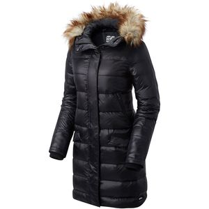 Sorel Tivoli Long Hooded Down Jacket - Nylon Shell - Women's