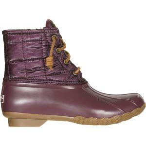 Sperry Top-Sider Saltwater Shiny Quilted Nylon Boot - Women's
