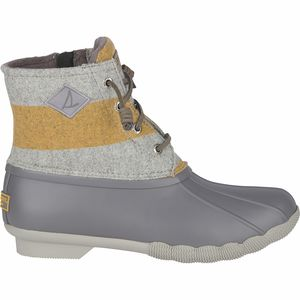 Sperry Top-Sider Saltwater Varsity Stripe Wool Boot - Women's