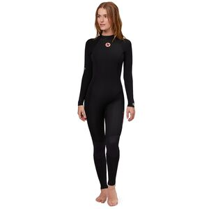 Sisstr Revolution 7 Seas 4/3mm Back-Zip Long-Sleeve Full Wetsuit - Women's