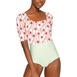 Seea Swimwear Zuma One-Piece Long-Sleeve Rashguard - Women's