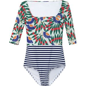 Seea Swimwear Zuma One Piece Rashguard - Girls'