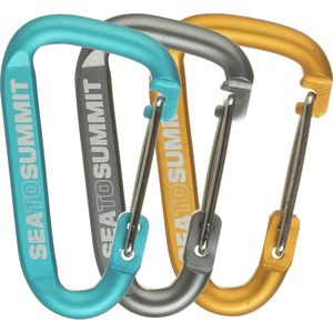 Sea To Summit Accessory Carabiner Set - 3-Pack