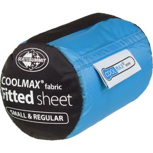 Sea To Summit Coolmax Fitted Sheet - Fits Small and Reg. Mats