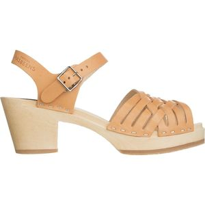 Swedish Hasbeens Braided High Sandal - Women's