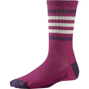 SmartWool Striped Hiking Light Crew Sock - Women's