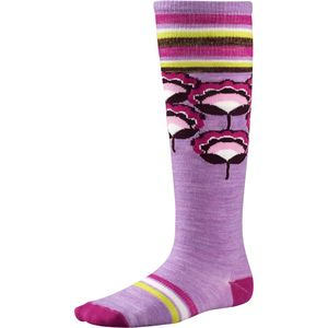 SmartWool Peony Pop Casual Knee High Socks - Girls'