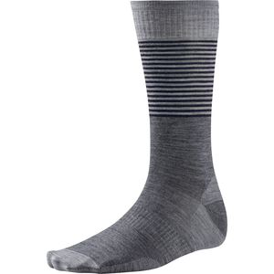 SmartWool Tailored Stripe Crew Sock - Men's