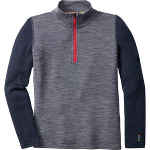 SmartWool Mid 250 Pattern Zip Top - Boys'