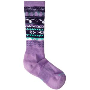 SmartWool Wintersport Fairisle Moose Sock - Girls'
