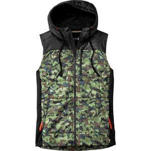 Smartwool Double Propulsion 60 Hooded Inuslated Pattern Vest - Men's