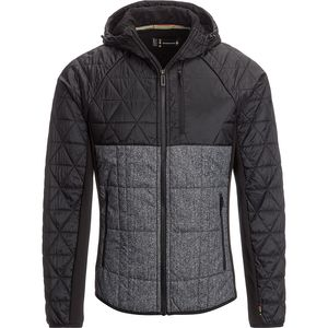 Smartwool Double Corbet 120 Hooded Insulated Pattern Jacket - Men's