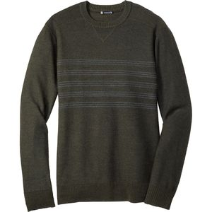 Smartwool Kiva Ridge Reverse Jersey Stripe Crew Sweater - Men's