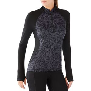 SmartWool PhD Light Printed Wind 1/2-Zip Top - Women's